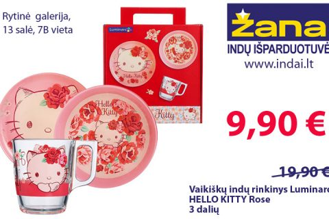 Hello Kitty rinkinys 9,90€
